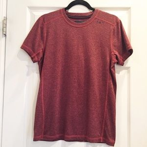 Abercrombie & Fitch EUC Red/Black Marled T-Shirt S